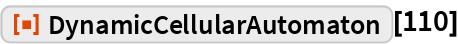 "ResourceFunction[""DynamicCellularAutomaton""][110]"