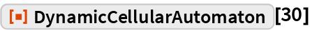 "ResourceFunction[""DynamicCellularAutomaton""][30]"