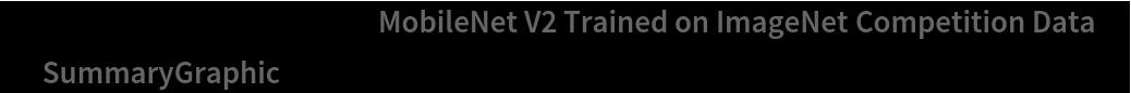 """NetInformation[  NetModel[""""MobileNet V2 Trained on ImageNet Competition Data""""], \ """"SummaryGraphic""""]"""