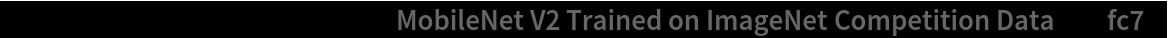 """tempNet = NetTake[NetModel[    """"MobileNet V2 Trained on ImageNet Competition Data""""], """"fc7""""]"""