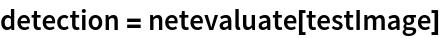 detection = netevaluate[testImage]