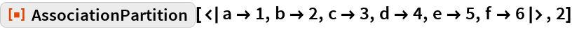 "ResourceFunction[  ""AssociationPartition""][<