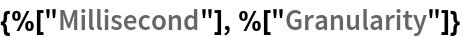 "{%[""Millisecond""], %[""Granularity""]}"