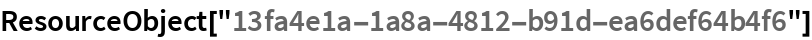 "ResourceObject[""13fa4e1a-1a8a-4812-b91d-ea6def64b4f6""]"