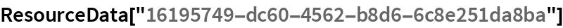 """ResourceData[""""16195749-dc60-4562-b8d6-6c8e251da8ba""""]"""