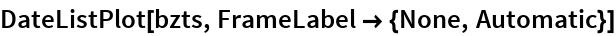 DateListPlot[bzts, FrameLabel -> {None, Automatic}]