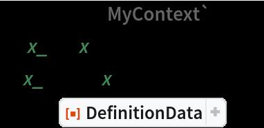 "$Context = ""MyContext`""; g1[x_] := x^3; f1[x_] := g1[x^2]; data = ResourceFunction[""DefinitionData""]@f1"