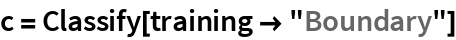 "c = Classify[training -> ""Boundary""]"