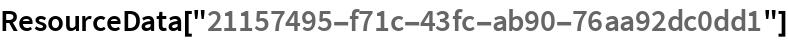 """ResourceData[""""21157495-f71c-43fc-ab90-76aa92dc0dd1""""]"""