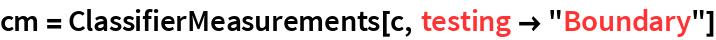 "cm = ClassifierMeasurements[c, testing -> ""Boundary""]"