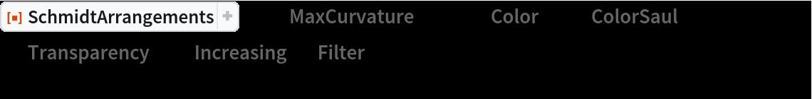 "ResourceFunction[""SchmidtArrangements""][-2, ""MaxCurvature"" -> 40, ""Color"" -> {""ColorSaul"", {2, 1, 1}},  ""Transparency"" -> ""Increasing"", ""Filter"" -> Rectangle[{-0.1, -0.1}, {1.1, Sqrt[2.0] + 0.1}],  PlotRange -> {{0, 1}, {0, Sqrt[2.0]}}, Background -> Black]"