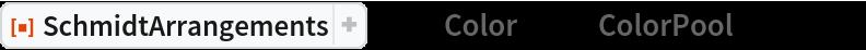 """ResourceFunction[""""SchmidtArrangements""""][-1, """"Color"""" -> {""""ColorPool"""", {1, 0}}]"""