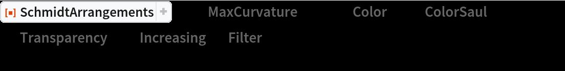 "ResourceFunction[""SchmidtArrangements""][-1, ""MaxCurvature"" -> 40, ""Color"" -> {""ColorSaul"", {2, 1, 1}},  ""Transparency"" -> ""Increasing"", ""Filter"" -> Rectangle[{-0.1, -0.1}, {1.1, 1.1}],  PlotRange -> {{0, 1}, {0, 1}}]"