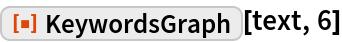 "ResourceFunction[""KeywordsGraph""][text, 6]"