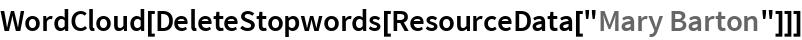 """WordCloud[DeleteStopwords[ResourceData[""""Mary Barton""""]]]"""