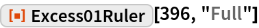 """ResourceFunction[""""Excess01Ruler""""][396, """"Full""""]"""