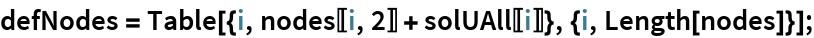 defNodes = Table[{i, nodes[[i, 2]] + solUAll[[i]]}, {i, Length[nodes]}];