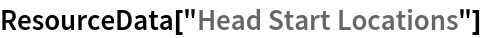 "ResourceData[""Head Start Locations""]"