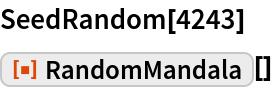 "SeedRandom[4243] ResourceFunction[""RandomMandala""][]"