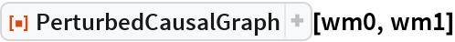 """ResourceFunction[""""PerturbedCausalGraph""""][wm0, wm1]"""