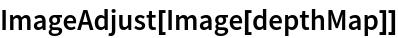 ImageAdjust[Image[depthMap]]