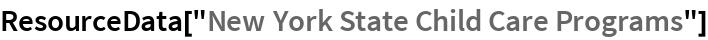 "ResourceData[""New York State Child Care Programs""]"