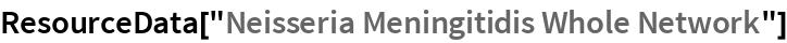 "ResourceData[""Neisseria Meningitidis Whole Network""]"