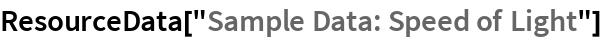 "ResourceData[""Sample Data: Speed of Light""]"
