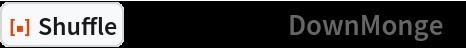 """ResourceFunction[""""Shuffle""""][Range[12], """"DownMonge""""]"""