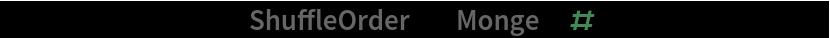 """ResourceFunction[""""ShuffleOrder""""][""""Monge"""", #] & /@ Range[2, 20]"""