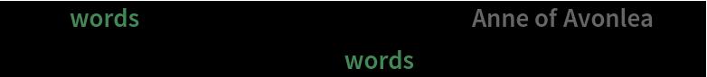 "With[{words = TextWords[ResourceData[""Anne of Avonlea""]]},  Histogram[(StringLength /@ words), PlotRange -> Full]]"