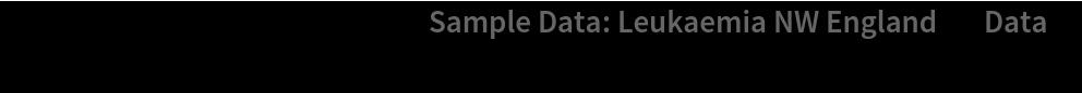 "PointValuePlot[ResourceData[\!\(\* TagBox[""\""\<Sample Data: Leukaemia NW England\>\"""", #& , BoxID -> ""ResourceTag-Sample Data: Leukaemia NW England-Input"", AutoDelete->True]\), ""Data""], {1 -> None, 2 -> None, 3 -> Automatic, 4 -> None}, PlotLegends -> Automatic]"