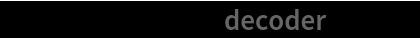"""NetExtract[net, {""""decoder"""", 1, 1}]"""