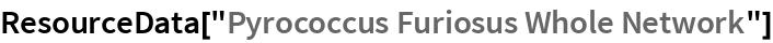 "ResourceData[""Pyrococcus Furiosus Whole Network""]"