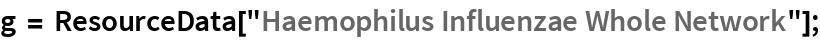 "g = ResourceData[""Haemophilus Influenzae Whole Network""];"