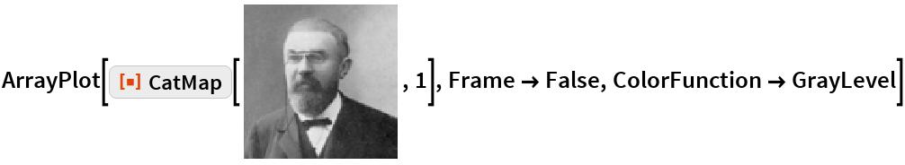 "ArrayPlot[ResourceFunction[""CatMap""][\!\(\* GraphicsBox[RasterBox[CompressedData["" 1:eJwtefdXk+u27h7n5/vLGeeMu9xbFx3SSKP3ACpVBWlSVHqH0AnpX3oDEnqT DtKlSS+pJBBCcamgKFJ0rb3P2OP+D3d+3BsgqGPwTub7zKfMT8ecioSc//jb 3/6W9/+/6jMTcuuLn0c/Cg19GJNXXSuUClg15cV5GfHPoiIK6EVFhdmvM2I8 PbxDAnwDA/weR4aGxOSmxQd6+/n7h9B8SRiCly/Fi+zuSSETCe5YLMEZg6FS sG52zg7Ojr//bn//wYMH/MIsOrM4JiIi9HFsQiazhicR82rL6bnp8c/CU0vp 9IqS/PzXMd5kTy9aGC2YGlHyMCDs1YuEh/7BPhRqoI8HBUel+nhRKGQPiifJ FUMgu7i44xydHP7h6Gjn7Obg5Opkb6ek06vrCyKiImhRsc+fM+o4MilSU1qc +zoxPqmisrikrLQoPyvGg+jl/ygszJdaPv3qUWhaVtzjwCCqd6BvgLcXkezu 4+PjTaHgvL0IWDjTDYtzc3W2c3BywLs54gnueHxTXS2TWRQb+/hxRHTi07KG GrESqa0sLclPTSyi00vL6CWFBXmPPYOCQh+G0kLCxm8bo2npJUlRD8P8/P18 /XyDvcmuFG8fCtmL4k0i4pwIBBKFhHdxc8G4wQeVSMBgsM0cFodb+Dwi7FF4 ZGrsS24VW4nUVZfRi7KLairK6OXlZUV56aFw9eGhoaG0ks//1r+KSi/OjA3x 8fL18vXx9vfzIHt4UaieJDIJj3fCkLDu7ngiFotzdcVg4W+uTk5OzWJ+AyMn KTqU9uhJSlxcfUW9HKmrKCsrojMZlRUVFTWVpVmJIb5h4Q8jw2lhwu8/rxrj 4wqyn9ACPAIDff38/L0oZDzV28OT7O3lS8Xj3JzdoRiWiMU4Y+yJVIq7Exan VAh4NbmpT8MeR8a9SIwvqWOIhYB5aSWbVwM1qqsqy3JSQzxDH8XGxT2J4e3/ /MtYGJdXmhIV7hNMowV5e/h7Uyl4CsWDSIUqeBweDyVwBCIB7+aMwRGJZIqv X2Mjn1dXmBQZGhmTkpGQmM2u54oZlSXFTAG7pqa2tq6+rKg0ISAgKjIuJfZF 6/rXX//8pUrIKMyIjwoPC6KFhQZ4UP0Bd5IvzJYXEY7GueMwGHc8xtUN54rB kwhkElGmFvHrC+NjnjyLef0qPTGtro4l4VTS64U8Zn0tg1FbXlyRH+MT+Dgm ITFecHZxdfvrf3YynhdkJEWHBYeGBD32p7h7U4kksqenj58XleTmisFhSBQc xtnR0c3Zxc6NSnJ2EqmbxMz85CdPnz5Ly3idlFBZVy9AKmv4Uj6TWVdTX11a XlQQFxgS8SQxMff9n1efr25+3agTC7IywmlBIWG+QX7eFCKZ7OVBppBJVAqZ 4IgnuWMJGFeMvZOTG1T8/Z6dg6i5WcIrT4uNjYzPfpmWmFJUXS0S1TH4Ah6T zaivK6cXl1VE+z+KjHmRLv18c/v5y+2f/zbmZ+WmPQz19wj39fb0oMJ9+HhS vCmeniAHBKKPBxGLx7o+sHeEwcLcv+fgKG1qlQjqCp+HBMdnpWUkpOXXVUrV vGouj8VkN9TXVVbUNlRGhUTGxKcXrFz9vL05+fHz57UiIzc1KpwWEIESnIrD Ej28PH19fHHuZDIJZpjohsHY/fa7vbOjg4v9PXt7oapVWF+WFR/xMCUj5WVa al5NBUcjKK0W8NlsBqOyuI7Dq3wYHBuX/kp28efNze3Zh9vrP9dzM19HBQV6 AhBUCpVIIcE3Dx9vYB2WgCORcVgnYN4/7rk4uoFiOTmJxRpN7cuU+JjY16lJ KS8zciqrq5ukxdlsAZdZW11SzuYLqoKDUlJfZ0///OvXj6vrDxeXl2fi7Fcg WVQ8igDB3cvDg+JOoZLd7N1I"