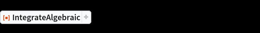 "ResourceFunction[  ""IntegrateAlgebraic""][((2 c - a x^3) Sqrt[   a x^3 + b x^2 + c])/((a x^3 + (b - 3) x^2 + c) (a x^3 + (b - 2) x^2 + c)), x]"