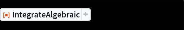 "ResourceFunction[""IntegrateAlgebraic""][((-1 + x^8) (-1 + x^4)^(1/4))/(  x^6 (1 + x^8)), x]"