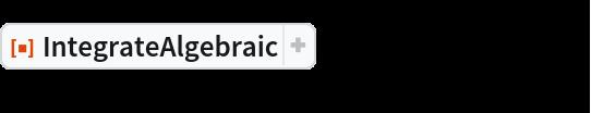 """ResourceFunction[""""IntegrateAlgebraic""""][(  x^2 - x + 1)/((x^2 - 1) Sqrt[x^3 + x]), x]"""