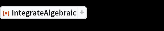"""ResourceFunction[""""IntegrateAlgebraic""""][(  2 x^2 + x + 2)/((2 x - 1) Sqrt[x^4 + x]), x]"""