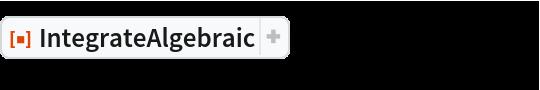 "ResourceFunction[""IntegrateAlgebraic""][1/((1 + x) (1 - x^3)^(1/3)), x]"