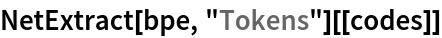 "NetExtract[bpe, ""Tokens""][[codes]]"