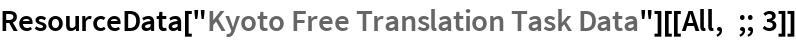 "ResourceData[""Kyoto Free Translation Task Data""][[All, ;; 3]]"