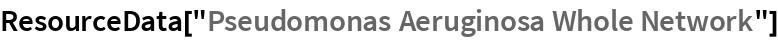 "ResourceData[""Pseudomonas Aeruginosa Whole Network""]"