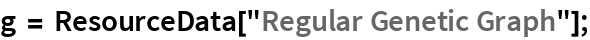 "g = ResourceData[""Regular Genetic Graph""];"