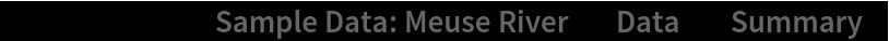"ResourceData[\!\(\* TagBox[""\""\<Sample Data: Meuse River\>\"""", #& , BoxID -> ""ResourceTag-Sample Data: Meuse River-Input"", AutoDelete->True]\), ""Data""][""Summary""]"