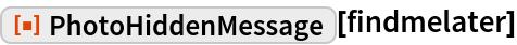 "ResourceFunction[""PhotoHiddenMessage""][findmelater]"