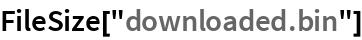 """FileSize[""""downloaded.bin""""]"""