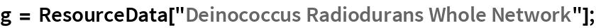 """g = ResourceData[""""Deinococcus Radiodurans Whole Network""""];"""