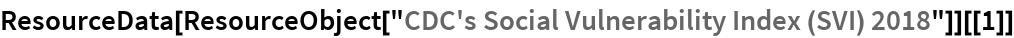 "ResourceData[ ResourceObject[""CDC's Social Vulnerability Index (SVI) 2018""]][[1]]"